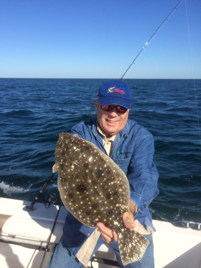 Flounder, Finally!